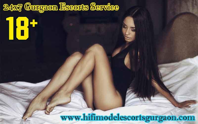 Get 24x7 Hours Gurgaon Escorts Service